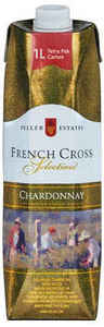 Peller Estates French Cross Chardonnay, 1000ml   Carton Bottle