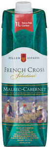 Peller Estates French Cross Malbec Cabernet, 1000ml Carton Bottle