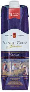 Peller Estates French Cross Merlot, 1000ml Carton Bottle