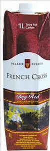 Peller Estates French Cross Dry Red, 1000ml Carton Bottle