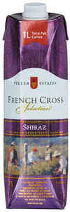 Peller Estates French Cross Shiraz, 1000ml Carton Bottle