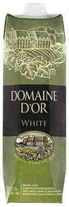 Domaine D' Or White, 1000ml Carton Bottle