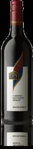 K W V Cabernet Sauvignon Merlot 2010, Western Cape Bottle