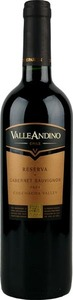 Valle Andino Cabernet Sauvignon Reserve 2009, Maule Valley Bottle