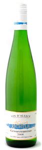 Domaine François Lichtlé Gewurztraminer 2008, Alsace Bottle