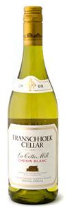 Franschhoek Vineyards La Cotte Mill Chenin Blanc 2010, Franschhoek Bottle