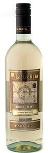 La Delizia Pinot Grigio 2009, Friuli – Venezia Giulia Bottle