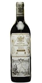 Marqués De Riscal Reserva 2006, Rioja Bottle