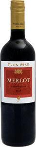 Yvon Mau Merlot 2009, Vdp De L'aude Bottle