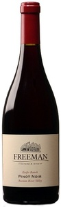 Freeman Pinot Noir 2007, Sonoma Coast Bottle