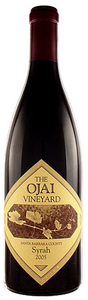 Ojai Bien Nacido Syrah 2005, Santa Barbara County Bottle