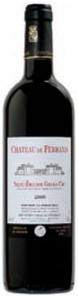Chateau De Ferrand 2006 Bottle