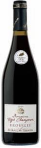 Domaine Régis Champier Extrait De Terroir Brouilly 2009, Ac Bottle