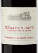 Domaine Taupenot Merme La Riotte Morey Saint Denis 1er Cru 2007, Ac Bottle