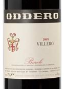 Oddero Villero Barolo 2005, Docg Bottle
