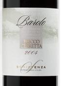 Schiavenza Bricco Cerretta Barolo 2004, Docg Bottle