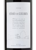 Señorío De Cuzcurrita 2005,  Rioja Bottle