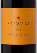 Stewart Pinot Noir 2007, Russian River Valley, Sonoma County Bottle