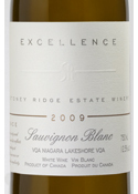 Stoney Ridge Excellence Sauvignon Blanc 2009, VQA Niagara Lakeshore Bottle