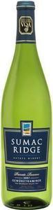 Sumac Ridge Gewurztraminer 2009, VQA Bottle