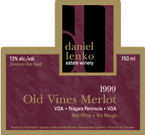 Daniel Lenko 2006 Old Vines Merlot 2006 Bottle