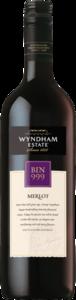 Wyndham Estate Bin 999 Merlot 2005, Southeastern Australia Bottle