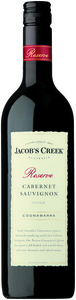 Jacob's Creek Cabernet Sauvignon Reserve 2008, Coonawarra, South Australia Bottle