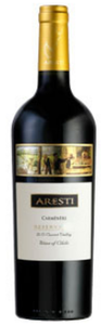 Aresti Reserva Carmenère 2008, Curicó Valley, Limited Release Bottle