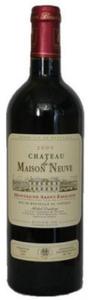 Château De Maison Neuve 2005, Ac Montagne Saint émilion Bottle