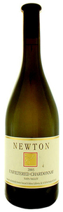 Newton Unfiltered Chardonnay 2007, Napa County Bottle