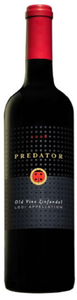 Predator Old Vine Zinfandel 2008, Lodi Appellation Bottle
