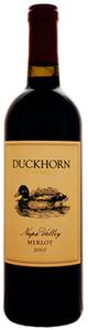 Duckhorn Merlot 2008, Napa Valley Bottle