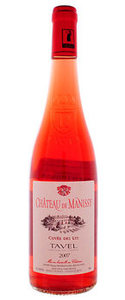Chateau De Manissy Rose 2010, Tavel Bottle