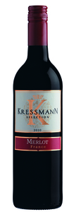Kressmann Selection Merlot 2010, Vin De France Bottle