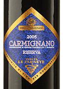 Enrico Pierazzuoli Tenuta Le Farnete Carmignano Riserva 2005 Bottle