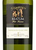 Beatum Petit Reserva Sauvignon Blanc 2008, Mendoza Bottle