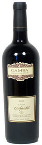 Gamba Moratto Vineyard Old Vine Zinfandel 2007 Bottle
