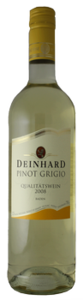 Deinhard Pinot Grigio 2009, Baden, Germany Bottle