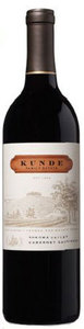 Kunde Family Estate Cabernet Sauvignon 2007, Sonoma Valley Bottle