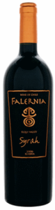 Falernia Reserva Syrah 2007, Elquí Valley Bottle