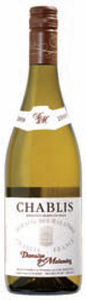 Domaine Des Malandes Chablis 2009, Ac Bottle