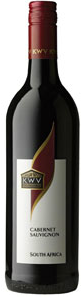 K W V Cabernet Sauvignon 2009, Western Cape Bottle