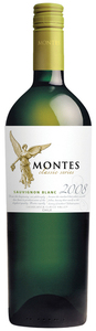 Montes Classic Series Sauvignon Blanc 2010, Curico Valley Bottle