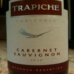 Trapiche Varietals Cabernet Sauvignon 2009 Bottle