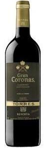 Torres Gran Coronas Reserva Cabernet Sauvignon 2007, Do Penedès (375ml) Bottle