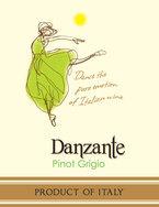 Danzante Pinot Grigio Delle Venezie 2009, Veneto Bottle