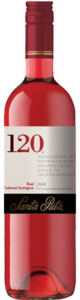 Santa Rita 120 Rose Cabernet Sauvignon 2009 Bottle