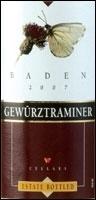 Baden (Badischer Winzerkeller) Gewürztraminer 2009 Bottle