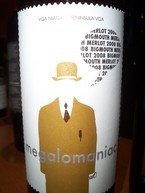 Meglomaniac Big Mouth Merlot 2008 2008 Bottle