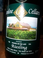 Caroline Cellars 2008 Riesling 2008 Bottle